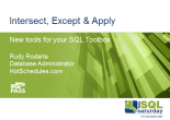 Download my slides and source code from my SQL Saturday 97 presentation.