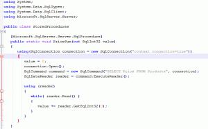SQL CLR Prodecure