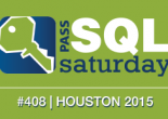 I'm back in Austin from SQL Saturday 408 in Houston, TX and back at work. The event was a great success and I liked everything from top to bottom. You can get the slides from all the sessions, including mine at the event page.
