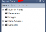 Learn how to recover the Report Data tab in SQL Server Reporting Services (SSRS)